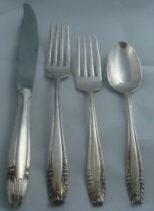 Wallace Stradivari Sterling Silver Four Piece Setting