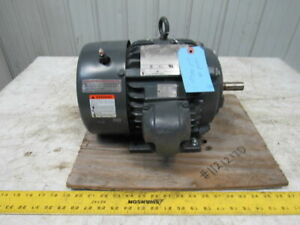 Emerson A2p2c 2hp 1770rpm 3ph 460v 7 8 Output Shaft Ac Motor