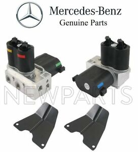 For Mercedes C215 R230 W220 Set Of 2 Suspension Air Compressor Valves And Covers