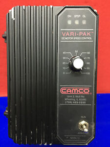 Camco Vari pak Dc Motor Speed Control 92a61633010000 No Wires Included