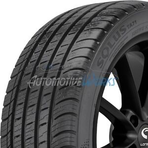 4 New 235 55 17 Kumho Solus Ta71 Ultra High Performance 500aaa Tires 2355517