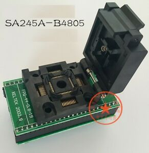 Ic Programmer Socket Adapter Sa245 A b4805 Tqfp44 To Dip44 Superpro Programmer