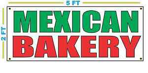 Mexican Bakery Banner Sign New Size Best Quality For The Money
