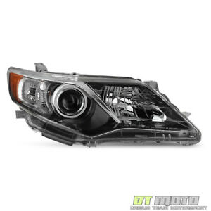 For 2012 13 2014 Toyota Camry Se Projector Headlight Headlamp Rh Passenger Side