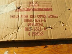 Nos 1959 1960 Ford Edsel Lincoln Mercury 430 Valve Chamber Push Rod Cover Gasket