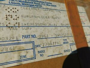 Nos 1979 1991 Ford Ltd Crown Victoria Country Squire Seat Track Lower Shield