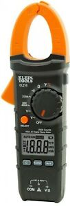 Multi meter Digital Clamp Meter With Temp Auto ranging Electrical Tester Klein