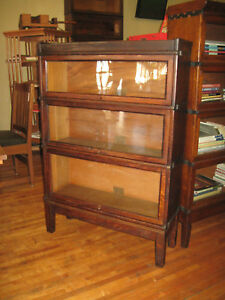 We Ship Mission Oak Globe Wernicke 3 High Stack Barrister Bookcase Arts Crafts