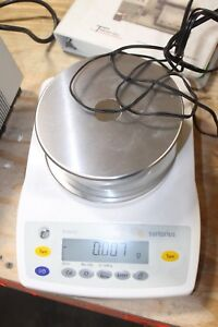 Working Sartorius Precision Balance Scale Ed153