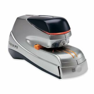 Swingline Optima 70 Electric Stapler 70 Sheet Capacity Silver And Black