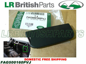 Genuine Land Rover Cup Holder Cover Plate Black Land Rover Lr3 New Fag500160pvj