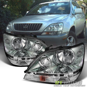 For 1999 2003 Lexus Rx300 Headlights Headlamps Replacement 99 03 Left Right Pair