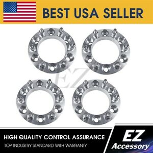 4 Wheel Adapters 6 Lug 6x139 7 6x5 5 For Toyota Tacoma Tundra Spacers 1 Thick