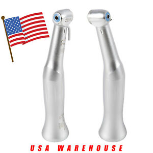 2pcs Usa Dental Low Speed Implant Contra Angle Handpiece 20 1 Reduction Sandent