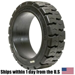 18x6x12 125 18x6x12 1 8 Solid Press on Traction Forklift Tire 18612