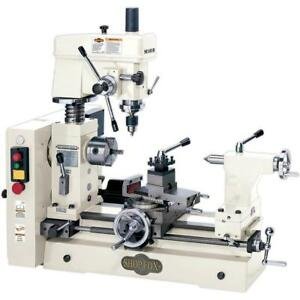 Shop Fox M1018 Small Combo Lathe Mill Free Shipping