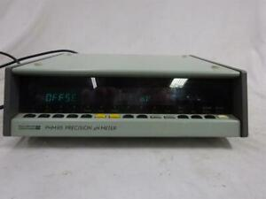 Radiometer Copenhagen Lab Bench Top Precision Ph Meter Phm85 Measures The Diffe