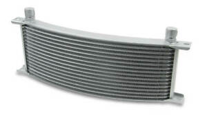 Earls 91308erl Earls Temp A Cure Oil Cooler Grey 13 Rows Wide Curved Co