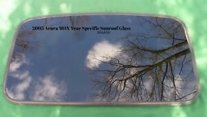 2005 Acura Mdx Oem Year Specific Sunroof Glass No Accident Free Shipping