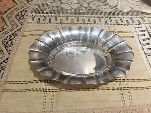 Wallace Sterling Silver Nut Candy Dish