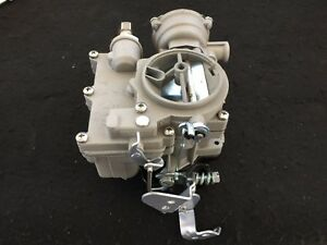 Vintage Speed Rochester 2g Primary Carb In Silver Sand Tri Power Hot Rod