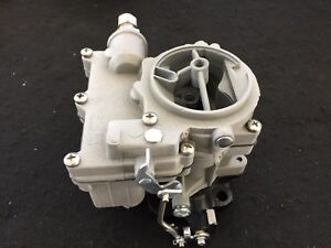 Vintage Speed Rochester 2g Secondary Carb In Silver Sand Tri Power Hot Rod