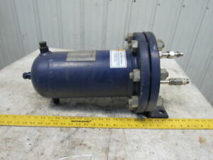 John Crane Lemco Lhxr 0625 crn Water Cooled Heat Exchanger Coil 1500 Psi 400