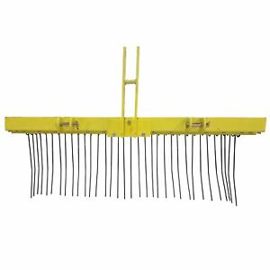 Titan 5 Ft 3 Point Pine Straw Needle Rake For Cat 1 3 Point