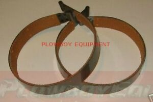 58345dcx Set Of 2 Brake Bands W Linings For Farmall Ih Tractor M Md