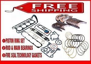 Engine Re Ring Re Main Kit 81 85 Buick Chevy Olds Pontiac 231 3 8l V6 Rwd