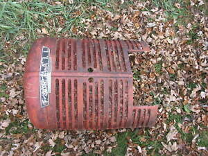 International Ih Farmall Tractor Nose Front M Super M Md Smta Grille
