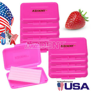 Us 200 X Dental Orthodontics Wax For Braces Gum Irritation Strawberry Scent Pink