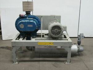 Fuller Surorbilt 8h b 25hp Positive Displacement Blower Package 230 460v 3ph