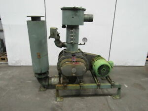 Fuller 7l 15hp Positive Displacement Blower Package 460v 3ph