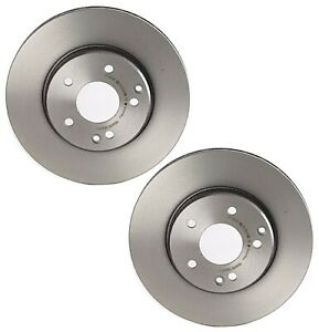 For Mercedes W203 W210 E300 C230 Set Of 2 Front Disc Brake Rotors 287mm Brembo