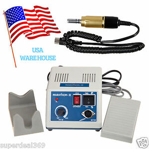 From Usa Dental Lab Marathon Electric Micromotor N3 Motor Handpiece 35k Rpm Gold