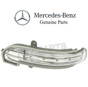 For Mb S203 W203 C Class Driver Left Door Mirror Turn Signal Light Led Genuine