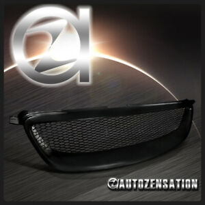 For 2003 2008 Toyota Corolla Ce Le S Black Mesh Style Front Hood Grille 1pc