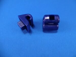 Mercedes Sun Visor Clips Blue W123 124 126 140 201 A Set Of Two Clips