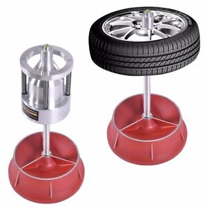 Portable Hub Wheel Balancer Bubble Level Heavy Duty Rim Tire Car Truck Repair
