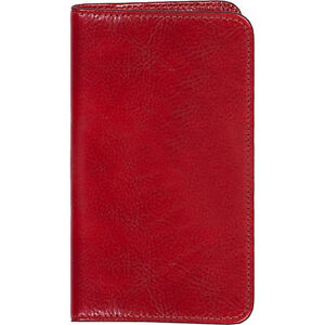 Scully Italian Leather Blank Page Pocket Notebook Red Business Accessorie New