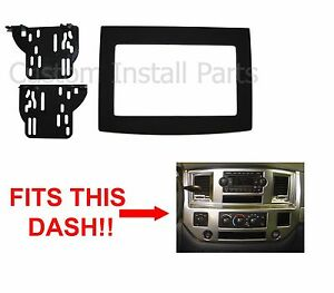 Double Din Dash Kit Aftermarket Stereo Radio Install Bezel Trim Mount 2din Panel