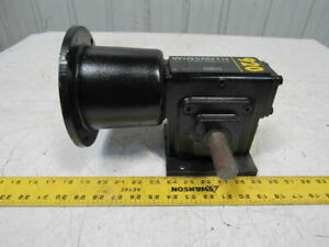 Winsmith 920mdt 5 1 1750rpm 2 5hp 350rpm 418in lb Output Dual Shaft Gear Reducer