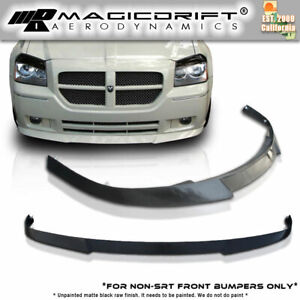 2005 2007 Dodge Magnum Ds Vip Dub Front Bumper Lip Spoiler Urethane Body Kit