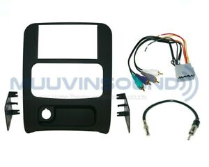 Radio Stereo Installation Dash Kit Combo Dd Amp Wire Harness Antenna Jl2
