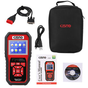 Cisno Obd2 Diagnostic Scanner Fault Code Reader Obdii eobd Fast Read Can Pwm Vpw