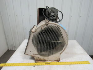 Dayton 5k682b 1 3hp Squirrel Cage Blower 115v 1ph 12 X 13 3 8 Opening