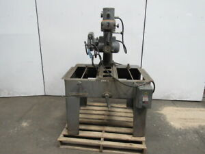 Delta Rockwell 438 02 314 0509 5hp 14 Radial Arm Miter Saw W stand 3ph 230 460v
