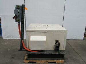 Wanner Hydra cell D35 Xgcghfhch 30hp Pump Package W Cabinet 230 460v