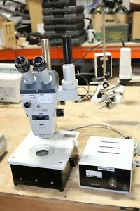 Zeiss Stemi Sv 8 Stereomicroscope With Illumonator Nice